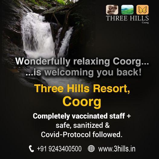 Three Hills Coorg Resort